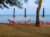 Feiertag auf Strand lizenzfreies stockfoto