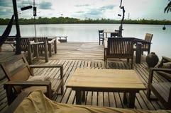 Feiertag beim Mekong Stockbilder