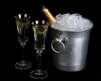 Feiertag Champagne stockfotos