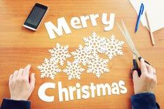 Feiertag der frohen Weihnachten Stockbilder