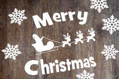 Feiertag der frohen Weihnachten Stockfoto