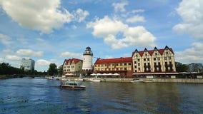 Feiertag in Kaliningrad stock footage