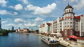 Feiertag in Kaliningrad stock video footage