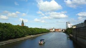 Feiertag in Kaliningrad stock video