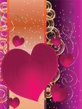 Feiertag kardiert Valentinstag Stockbild