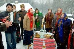 Feiertag Maslenitsa Stockfoto