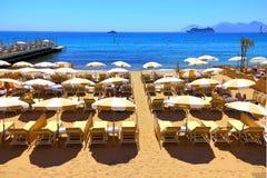 Feiertag in Meer Stockfotografie