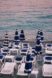 Feiertag in Meer Lizenzfreie Stockfotografie