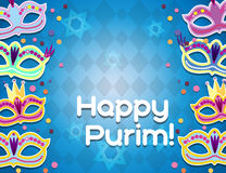 Feiertag Purim-Anzeige Lizenzfreie Stockfotografie