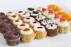 feiertag Süßer Nachtisch Kuchen, kleiner Kuchen lizenzfreies stockbild