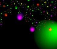 Feiertag Starfall. vektor abbildung