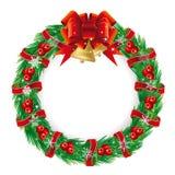 Feiertag Wreath Stockbilder