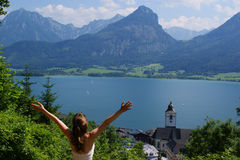 Feiertage in Österreich lizenzfreie stockbilder
