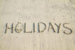 Feiertage stockbild