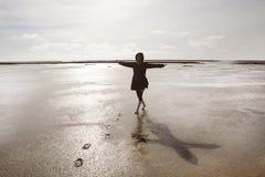 Feiertage auf der Nordsee Lizenzfreie Stockfotografie