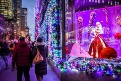 Feiertage auf Fifth Avenue Lizenzfreies Stockbild