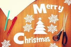 Feiertage der frohen Weihnachten Stockbild
