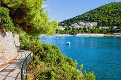 Feiertage in Dubrovnik Stockbild