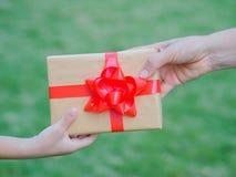 Feiertage, Geschenk, Stockfoto