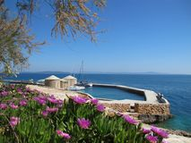 Feiertage in Kroatien Stockbild