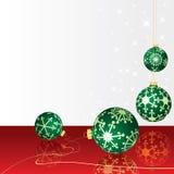 Feiertage rot und grün Stockfoto