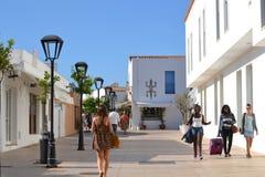 Feiertage in Spanien Stockfoto