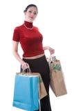 Feiertags-Einkaufen Lizenzfreies Stockbild