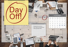 Feiertags-Ferien-Entspannungs-Flucht-Konzept des freien Tages Lizenzfreie Stockbilder