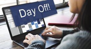 Feiertags-Ferien-Entspannungs-Flucht-Konzept des freien Tages Lizenzfreie Stockfotos