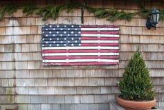 Feiertags-Flagge  lizenzfreies stockbild