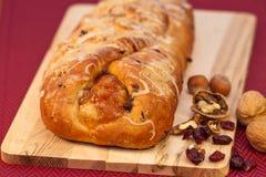 Feiertags-Frucht-Brot Stockbild