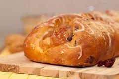 Feiertags-Frucht-Brot Lizenzfreie Stockfotos