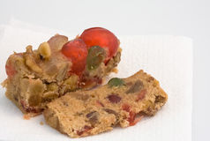 Feiertags-Frucht-Kuchen Lizenzfreies Stockfoto