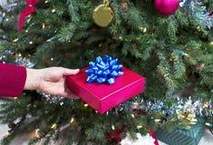 Feiertags-Geschenk Stockfoto