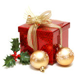 Feiertags-Geschenk-Kasten Lizenzfreie Stockfotos