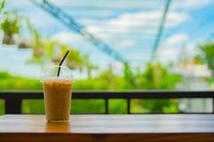 Feiertags-Kaffee-Naturhintergrund Stockfotos