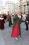 Feiertags-Karneval in Moskau Stockbilder