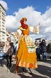 Feiertags-Karneval in Moskau Stockbild