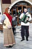 Feiertags-Karneval in Moskau Stockfotos