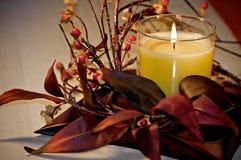 Feiertags-Kerze Lizenzfreie Stockfotos