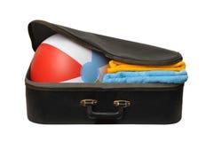 Feiertags-Koffer Lizenzfreie Stockfotos