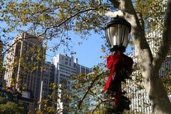 Feiertags-Lampe Lizenzfreies Stockfoto