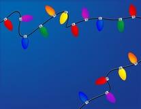 Feiertags-Leuchten Lizenzfreies Stockfoto