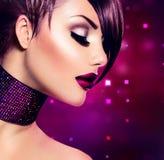 Feiertags-Make-up Stockfoto