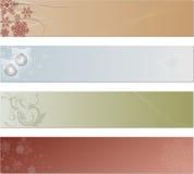 Feiertags-Marken oder Fahnen Stockbild