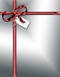 Feiertags-Paket mit Farbband Lizenzfreie Stockbilder