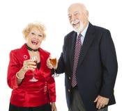 Feiertags-Party-Spaß Stockfoto