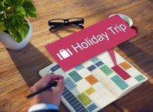 Feiertags-Reise-Ferien-reisendes Abenteuer-Konzept Lizenzfreie Stockfotografie