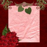 Feiertags-romantisches stationäres Stockbild