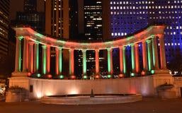 Feiertags-Säulengang Lizenzfreies Stockfoto